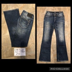 Silver Suki Mid Boot Jeans